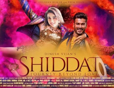 Shiddat - The Love Story of Today's Era